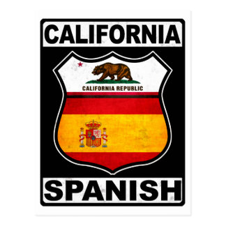 California Spanish American Postcard