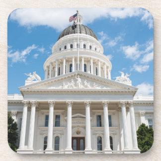 California State Capitol in Sacramento Drink Coaster
