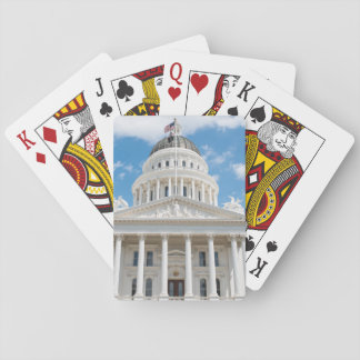 California State Capitol in Sacramento Playing Cards