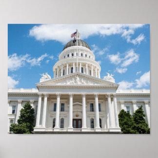 California State Capitol in Sacramento Poster