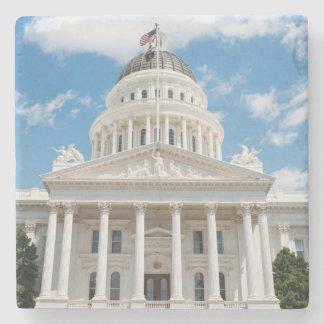 California State Capitol in Sacramento Stone Coaster