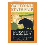 California State Fair Greeting Card