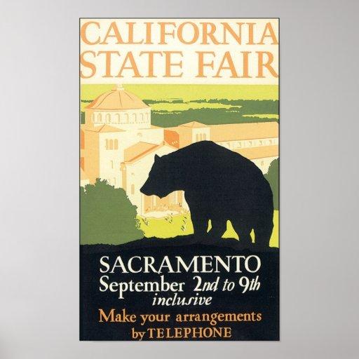 California State Fair Sacramento Poster