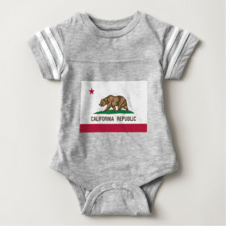 California State Flag Baby Bodysuit