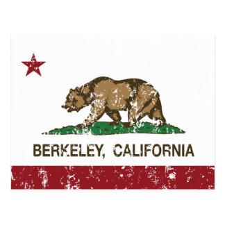 California State Flag Berkeley Postcard