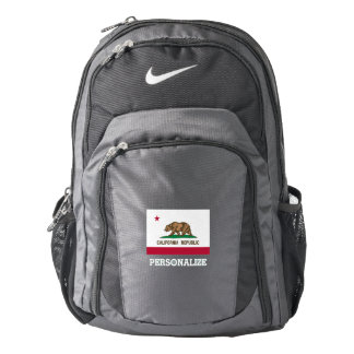 California state flag custom Nike backpack
