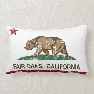 California State Flag Fair Oaks Pillow