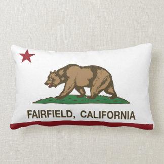 California State Flag Fairfield Throw Pillow