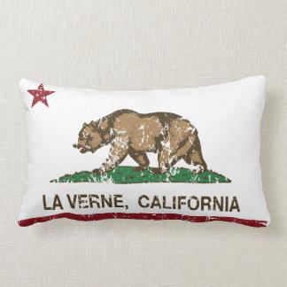 California State Flag La Verne Pillow