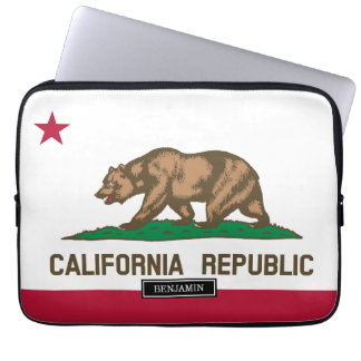 California State Flag Laptop Computer Sleeves