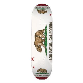 California State Flag Los Gatos 21.6 Cm Skateboard Deck