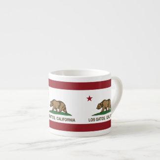 California State Flag Los Gatos Espresso Mug