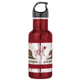 California State Flag Los Gatos 532 Ml Water Bottle