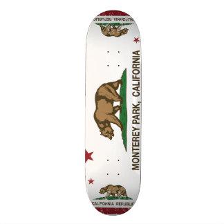 California State Flag Monterey Park 18.4 Cm Mini Skateboard Deck