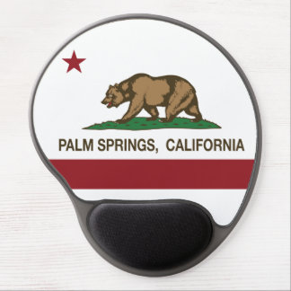 California State Flag Palm Springs Gel Mousepad