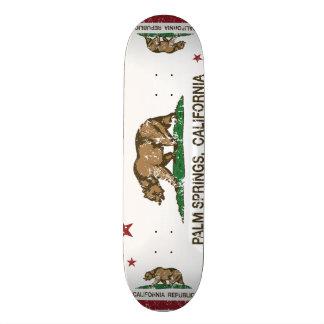 California State Flag Palm Springs Skateboard Deck
