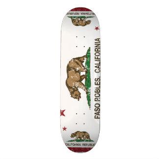 California State Flag Pasa Robles 19.7 Cm Skateboard Deck