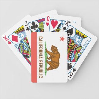 California State Flag Playing Cards