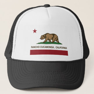 California state flag Rancho Cucamonga Trucker Hat