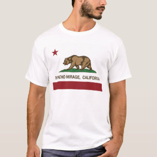 california state flag Rancho mirage T-Shirt