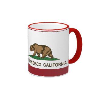 California state flag San Francisco Mug