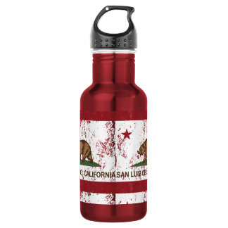 California State Flag San Luis Obispo 532 Ml Water Bottle