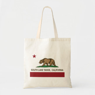 California State Flag South Lake Tahoe Bag