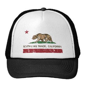 California State Flag South Lake Tahoe Mesh Hats