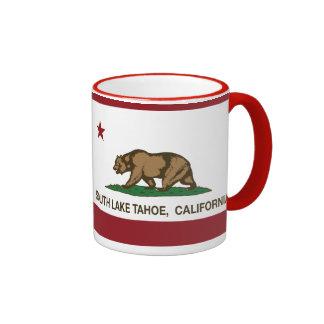 California State Flag South Lake Tahoe Coffee Mug
