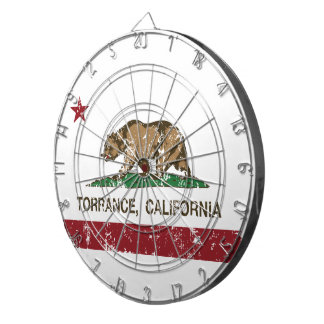 California State Flag Torrance Dart Boards