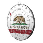 California State Flag Torrance Dartboard