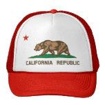 California State Flag Trucker Hat (red)