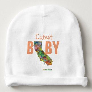 CALIFORNIA STATE MAP - BABY BEANIE
