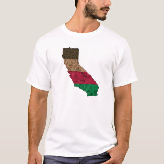 California State Map Outline T-Shirt