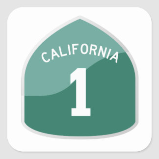 California State Route 1 / Highway 1 Sticker
