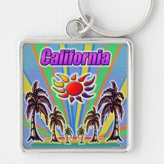 California Summer Love Keychain
