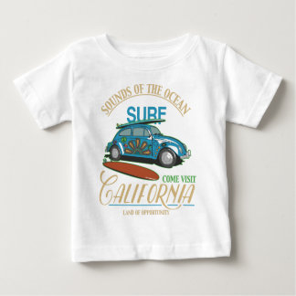 California Surf Baby T-Shirt
