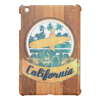 California surfboard iPad mini case