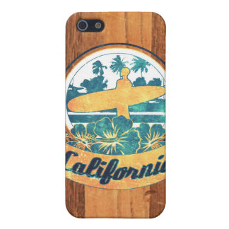 California surfboard iPhone 5/5S cover