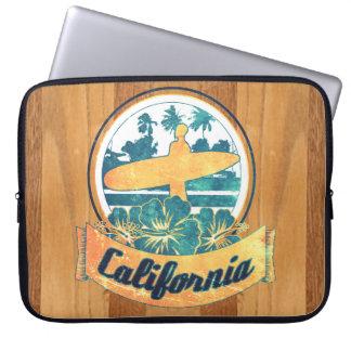 California surfboard laptop sleeves