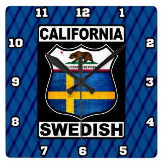 California Swedish American Clock