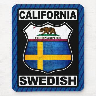 California Swedish American Mousemat