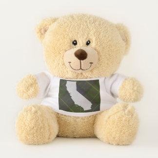 California Tartan and State Teddy Bear