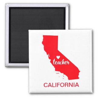 California Teacher Magnet