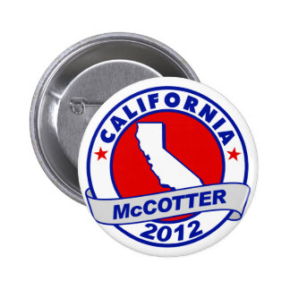 California Thad McCotter Button