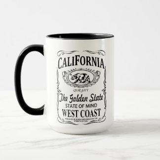 California The Golden State mug