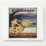 California this summer. Travel by Train  Mouse Pad