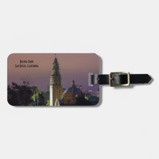California Tower Balboa Park San Diego Template Luggage Tag