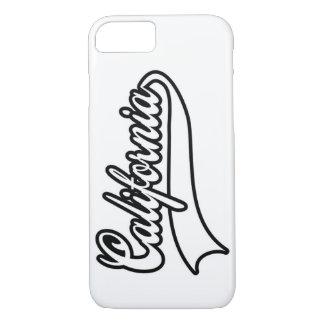 California typography iPhone 7 case