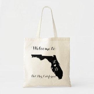 California Welcome Destination Wedding Budget Tote Bag